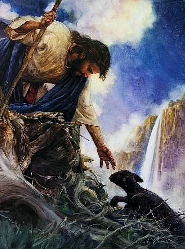 Христос и грешник