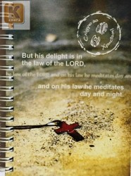 Блокнот,15*10.5,  90 листов. But his delight isin the law of the Lord..
